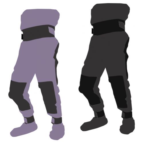 Сухие штаны для сплава