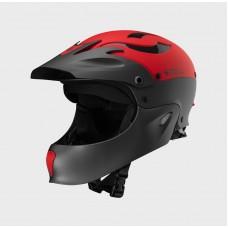 Шлем Sweet Rocker Full Face для сплава по бурной воде, красный