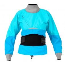 Сухая куртка Kokatat Stoke женская, голубая