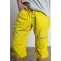 Сплавные шорты VODAGEAR Дзен, желтые